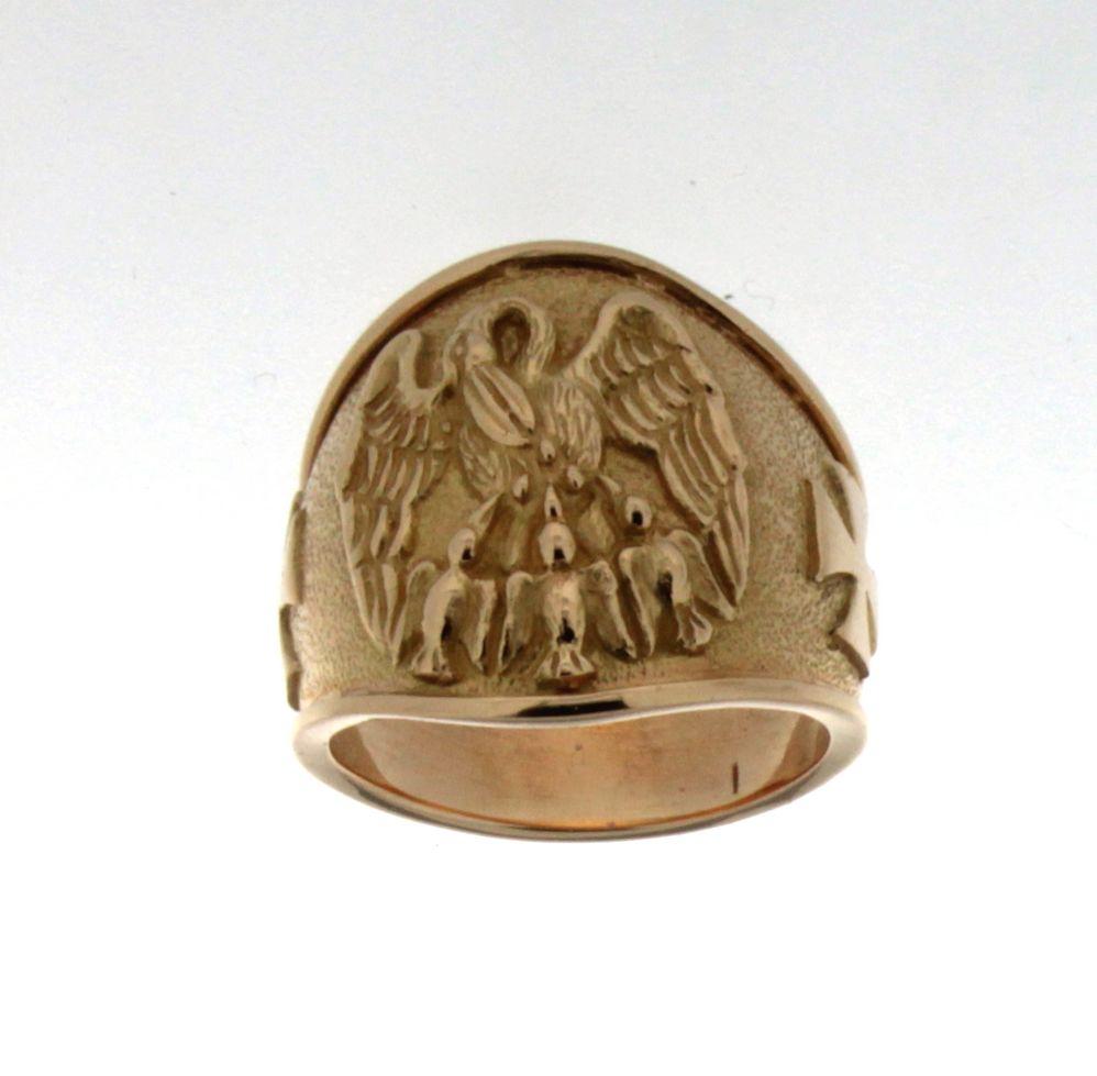 Anelli anello pellicano for Arredi sacri roma